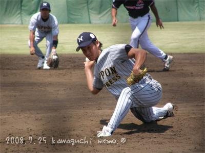 牧田和久投手