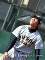 古澤翔投手