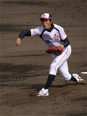 連投の斎藤圭太投手