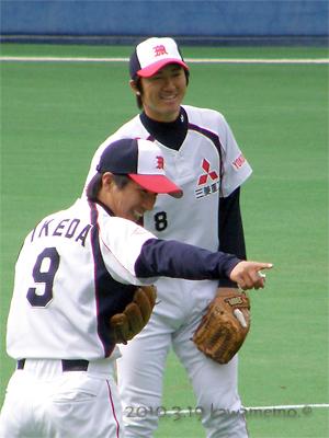 佐々木勉選手と池田選手