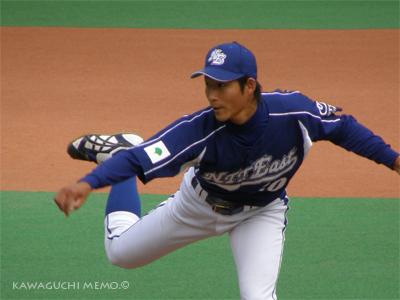 福井投手の顔が好き