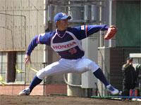 筑川利希也投手