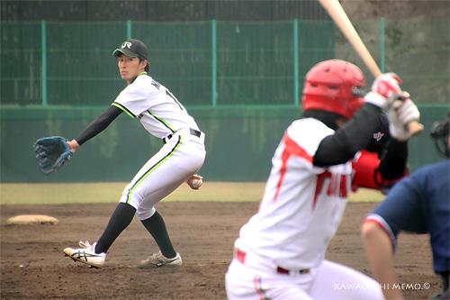 成田隼人投手