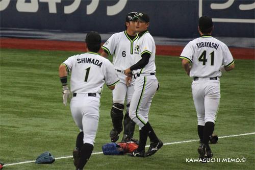試合前:福山雄投手