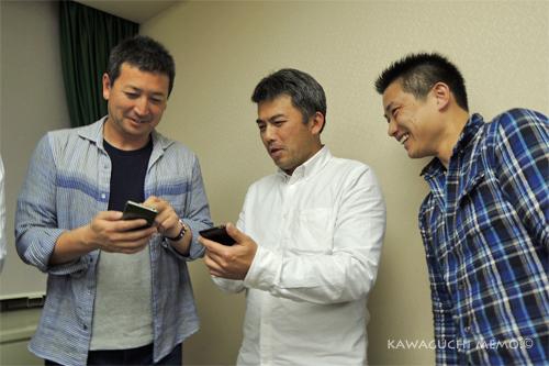 西郷さん、安田さん、羽野くん