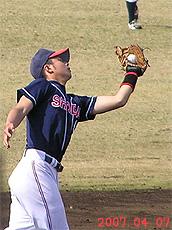 三塁手:石井優