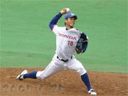 角田理生投手