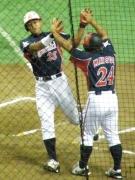 伊藤の2点本塁打